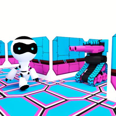 MazeBot - Unity Retro Speedrun Game